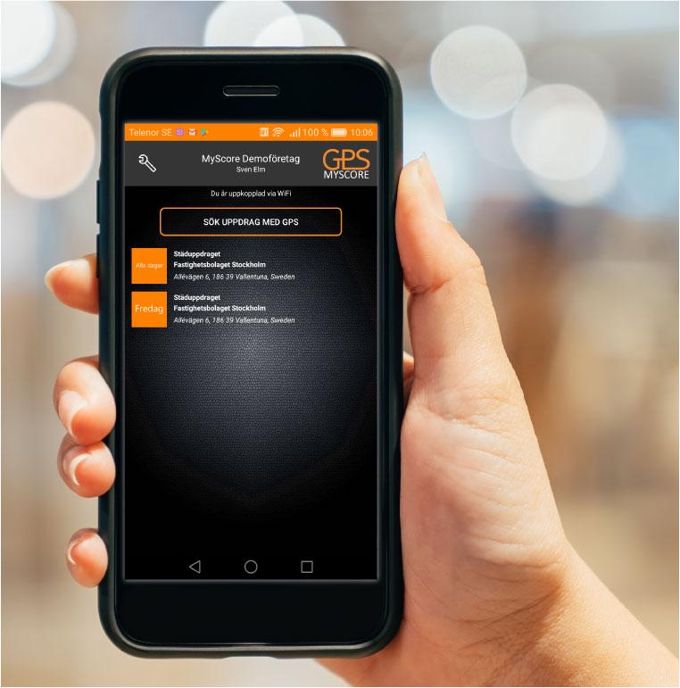MyScore Närvaro GPS – håller reda på dina arbetspass åt dig!
